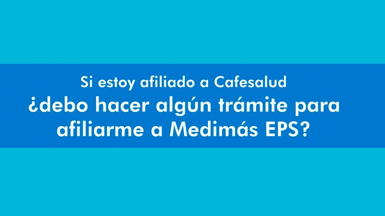 Cafesalud Bogota citas contenido