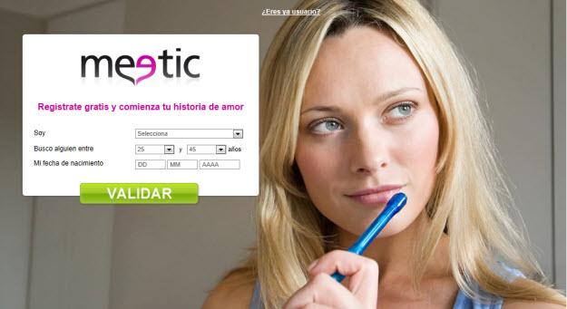 Citas internet Espana quieres convertirte discretamente